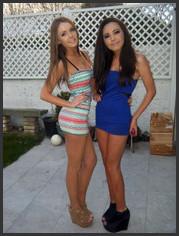 Non nude young schoolgirls, pretty faces